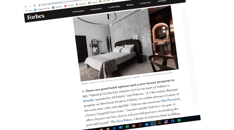 Rosselli - AX Privilege - Forbes Article