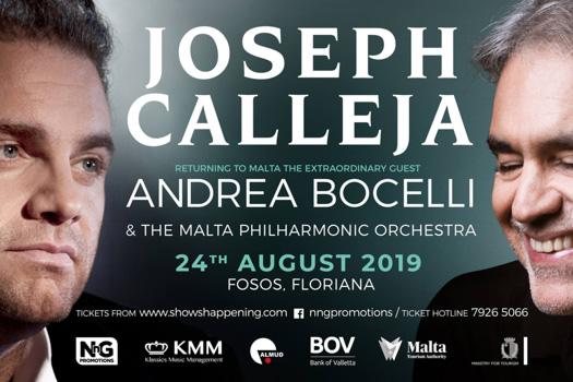 Joseph Calleja/Andrea Boccelli
