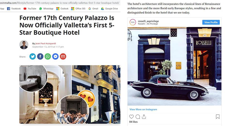 Rosselli - AX Privilege - Lovin Malta Article