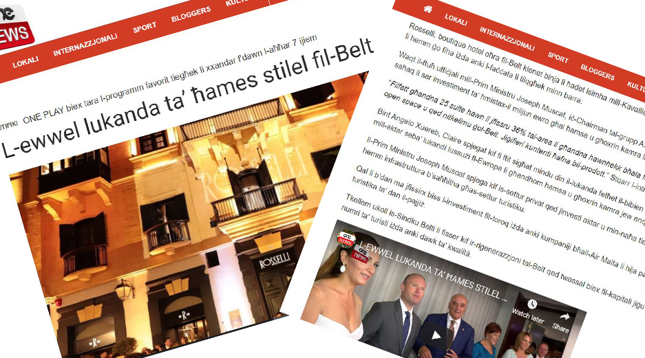 Rosselli - AX Privilege - One News Article