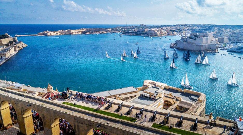 Rolex Middle Sea Race, Valletta