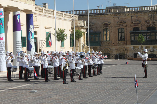 Changing of the Guard, Valletta, Malta