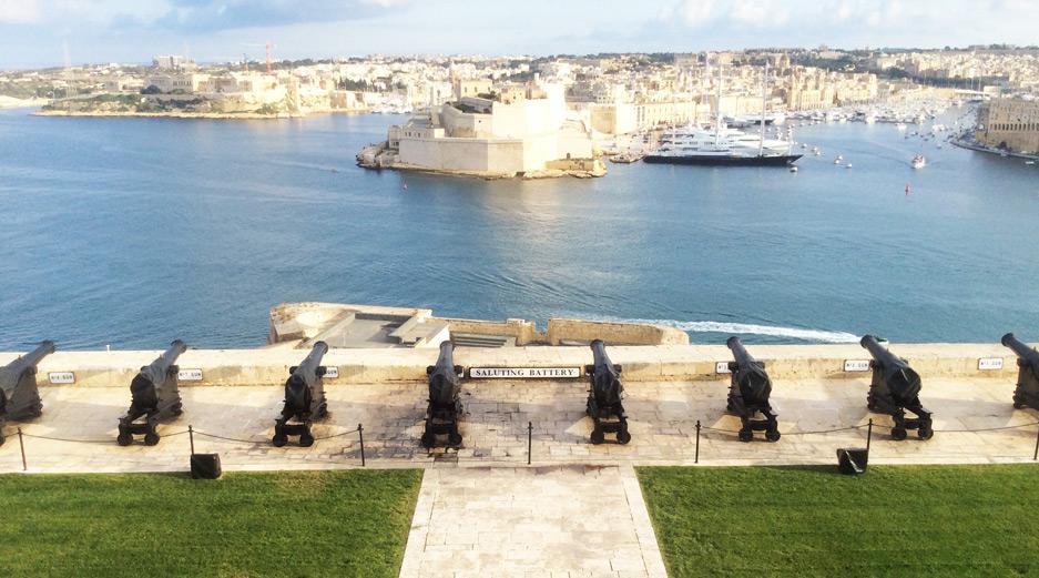 Saluting Battery Valletta