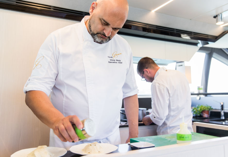 Cruise our Flavours with UnderGrain michelin starred team